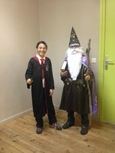 Harry Potter et Merlin