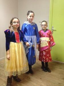 Blanche Neige, la fée de Pinocchio et Mulan